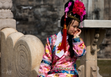 Traditional Dress at the Forbidden City