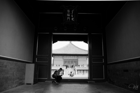 Rest Time at the Forbidden City
