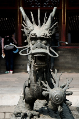 Guardian at the Forbidden City