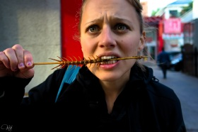 Eating Centipede